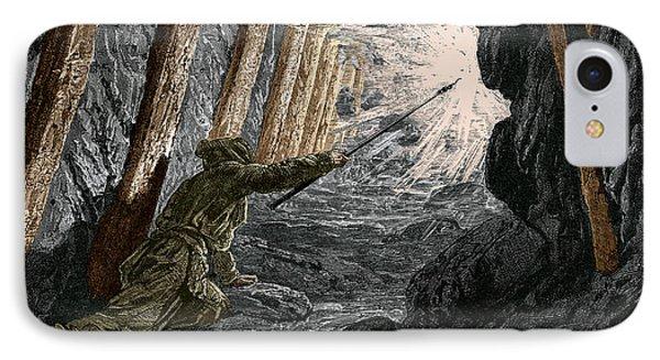 19th-century Coal Mining IPhone Case