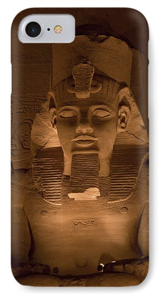 A Close View Of Ramses IIs Temple Phone Case by Taylor S. Kennedy