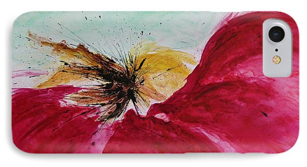 Abstract Flower  Phone Case by Ismeta Gruenwald