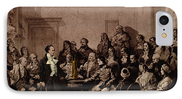Alessandro Volta, Italian Physicist Phone Case by Science Source