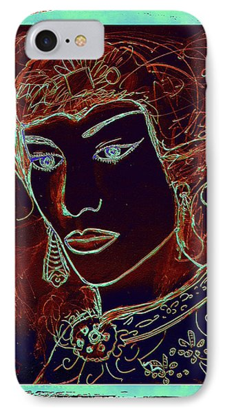 Angelica IPhone Case by Natalie Holland