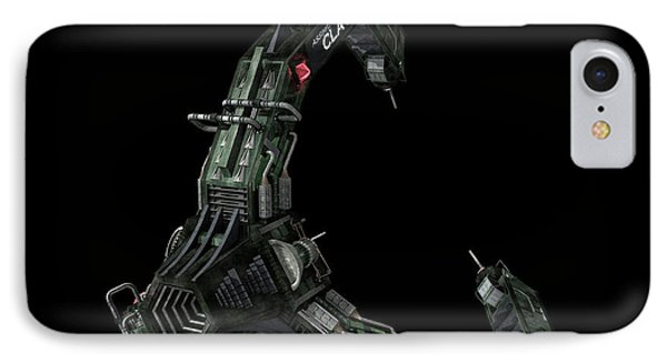 Artists Concept Of The Assimilators Phone Case by Rhys Taylor