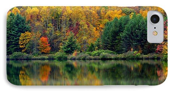 Autumn Big Ditch Lake Phone Case by Thomas R Fletcher