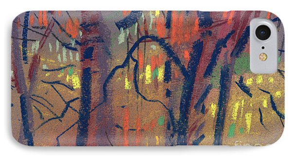IPhone Case featuring the painting Autumn Color by Donald Maier