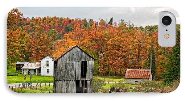 Autumn Farm Phone Case by Steve Harrington