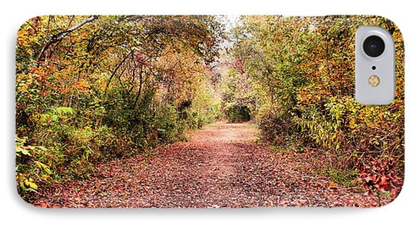 Autumn Trail IPhone Case by Rick Friedle