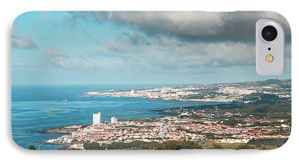 Azores Coastal Landscape IPhone Case