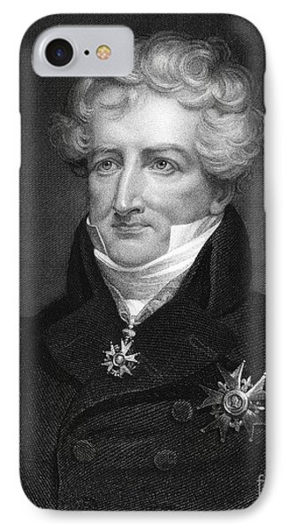 Baron Georges Cuvier Phone Case by Granger