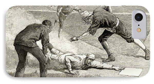 Baseball Game, 1885 Phone Case by Granger