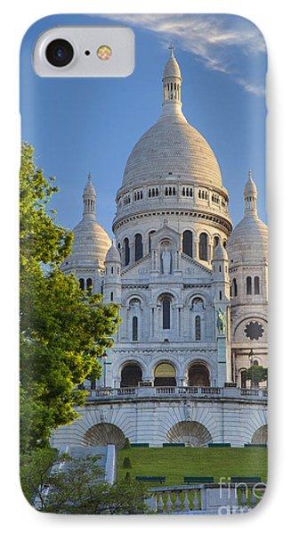 Basilique Du Sacre Coeur Phone Case by Brian Jannsen