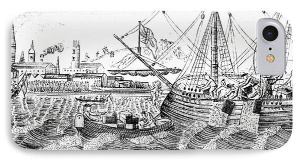 Boston Tea Party, 1773 IPhone Case by Granger
