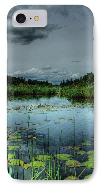 Bottomless Lake Phone Case by Heather  Rivet