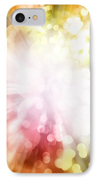 Bright Background Phone Case by Les Cunliffe