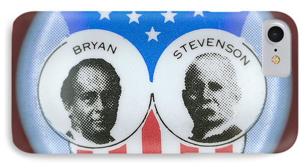 Bryan Campaign Button Phone Case by Granger