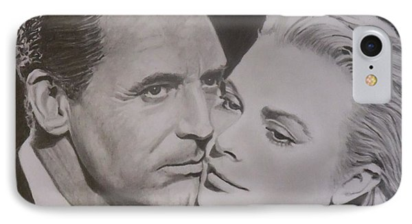Cary Grant And Grace Kelly Phone Case by Mike OConnell