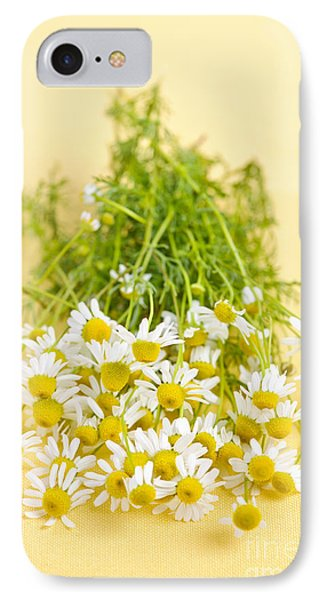 Chamomile Flowers Phone Case by Elena Elisseeva