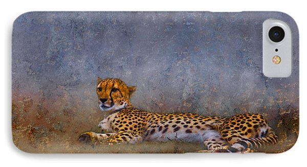 Cheetah Phone Case by Ron Jones
