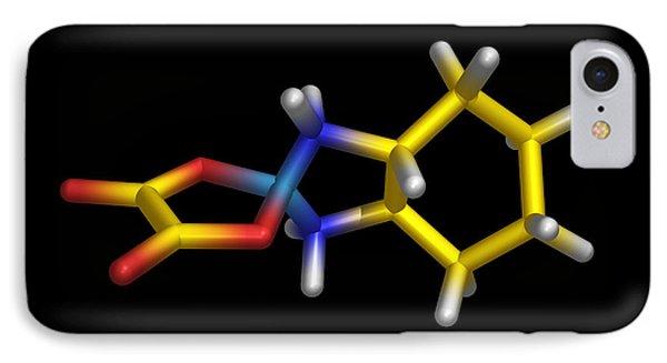Chemotherapy Drug Molecule Phone Case by Dr Tim Evans