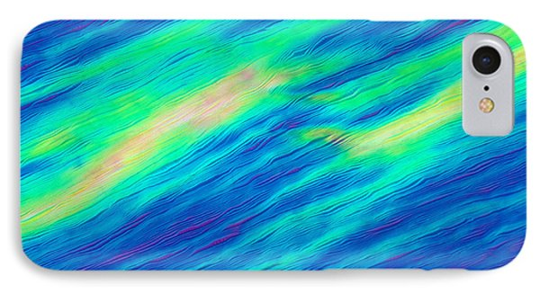 Cholesteric Liquid Crystals Phone Case by Michael Abbey and Photo Researchers