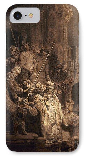 Christ Before Pilate Phone Case by Granger