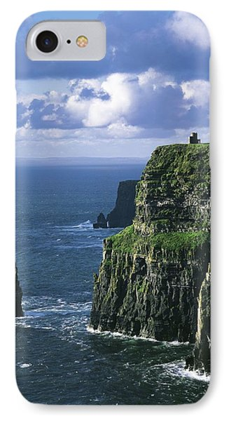 Cliffs Of Moher, Co Clare, Ireland Phone Case by The Irish Image Collection