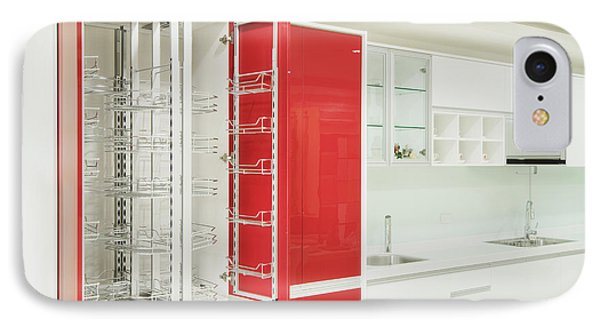 Cupboard With Stainless Steel Metal IPhone Case