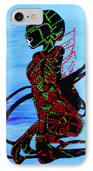 Dinka Bride - South Sudan Phone Case by Gloria Ssali
