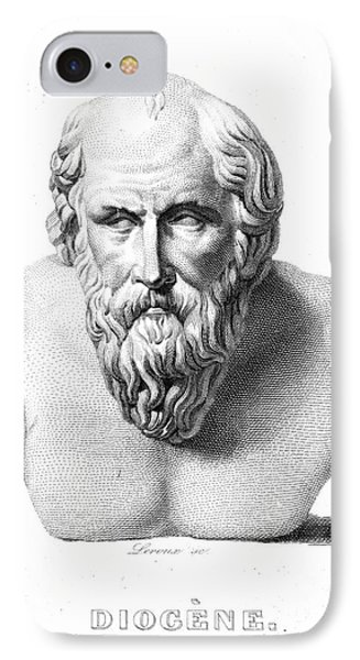 Diogenes (d. C320 B.c.) Phone Case by Granger