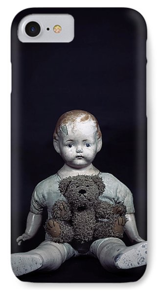 Doll And Bear IPhone Case