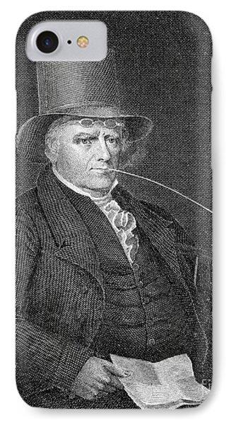Elkanah Watson (1758-1842) Phone Case by Granger