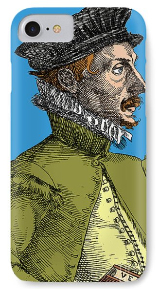 Felix Plater, Swiss Physician Phone Case by Science Source