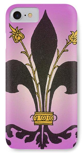Fleur-de-lis Phone Case by Science Source