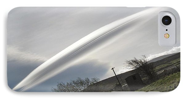 Flying Saucer Cloud Phone Case by Cordelia Molloy