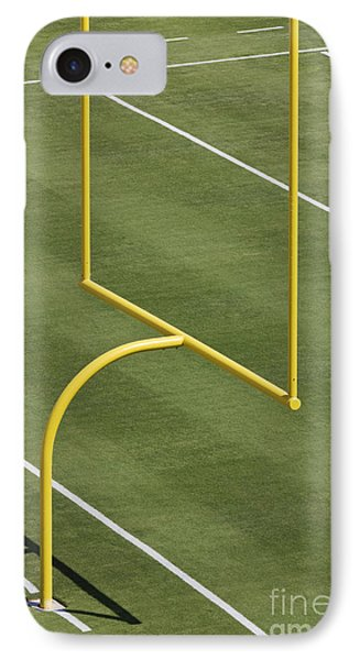 Football Goal Post Phone Case by Jeremy Woodhouse