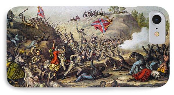 Fort Pillow Massacre, 1864 Phone Case by Granger
