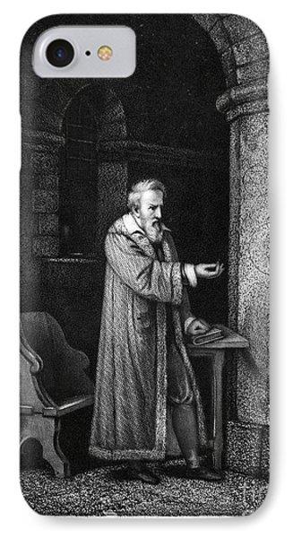 Galileo Galilei (1564-1642) Phone Case by Granger