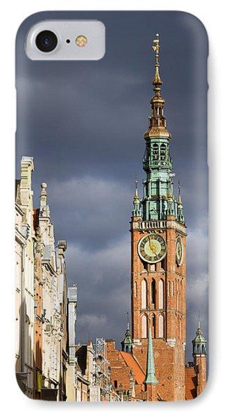 Gdansk Old Town IPhone Case by Artur Bogacki