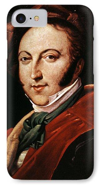 Gioacchino Rossini Phone Case by Granger
