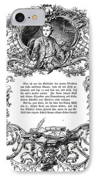 Goethe: Werther Phone Case by Granger