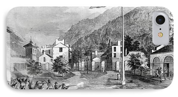 Harpers Ferry Insurrection, 1859 Phone Case by Photo Researchers