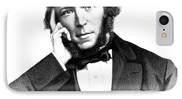 Herbert Spencer, English Polymath Phone Case by Science Source