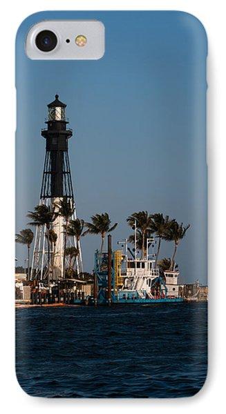 Hillsboro Inlet Lighthouse Phone Case by Ed Gleichman