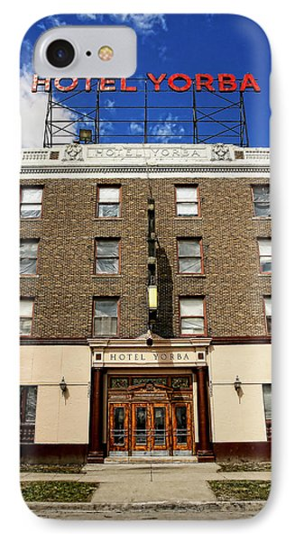 Hotel Yorba Phone Case by Gordon Dean II