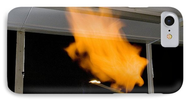 Investigating Combustion Of Hydrogen Phone Case by Trevor Clifford Photography