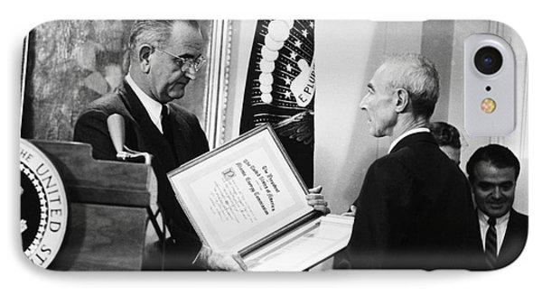 J. Robert Oppenheimer Phone Case by Granger