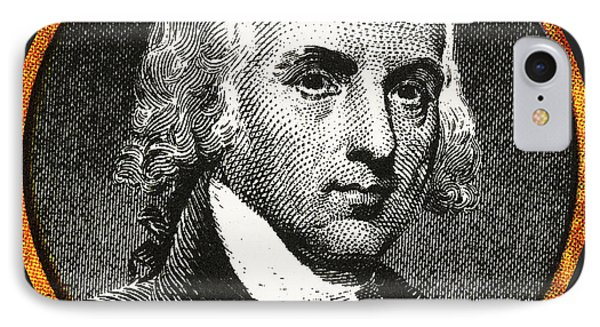 James Madison, 4th American President Phone Case by Photo Researchers