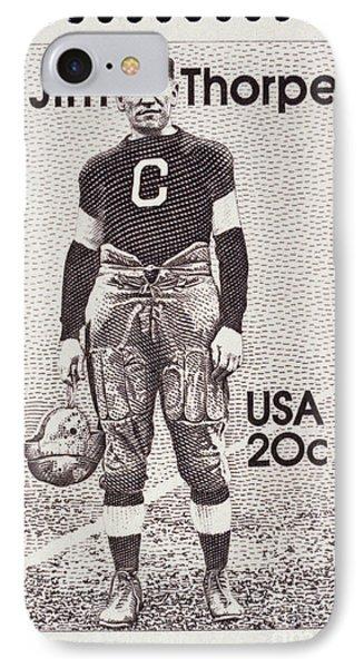 Jim Thorpe (1888-1953) Phone Case by Granger