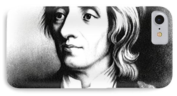 John Locke, English Philosopher, Father IPhone Case by Science Source