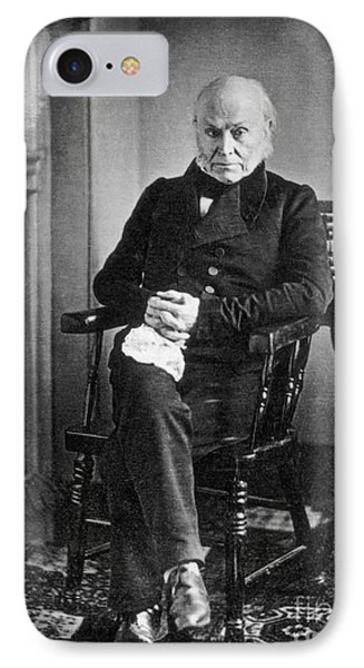 John Quincy Adams, 6th American IPhone Case by Photo Researchers