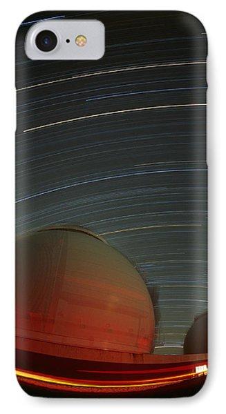 Keck I And II Observatories On Mauna Kea, Hawaii IPhone Case